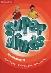 Super Minds Wordcards 4, Puchta Herbert, Gerngross GĂĽn