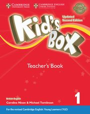 Kid's Box 1 Teacher's Book, Frino Lucy, Williams Melanie, Nixon Caroline, Tomlinson Michael