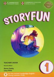 Storyfun for Starters 1 Teacher's Book, Saxby Karen, Frino Lucy