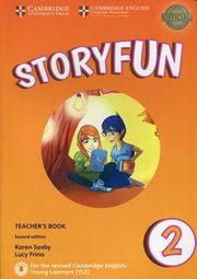 Storyfun for Starters 2 Teacher's Book, Saxby Karen, Frino Lucy