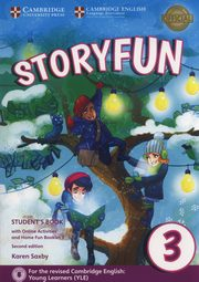 Storyfun 3 Student's Book + online activities, Saxby Karen