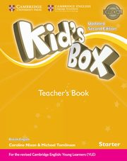 Kid's Box Starter Teacher's Book British English, Frino Lucy, Nixon Caroline, Tomlinson Michael