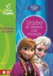 Words in riddles and puzzles Kraina Lodu Disney English,