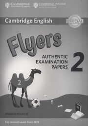 Cambridge English Flyers 2 Answer booklet,