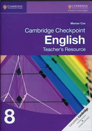 Cambridge Checkpoint English Teacher's Resource 8, Cox Marian