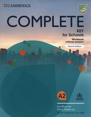 Complete Key for Schools A2 Workbook, Elliott Sue, Heyderman Emma